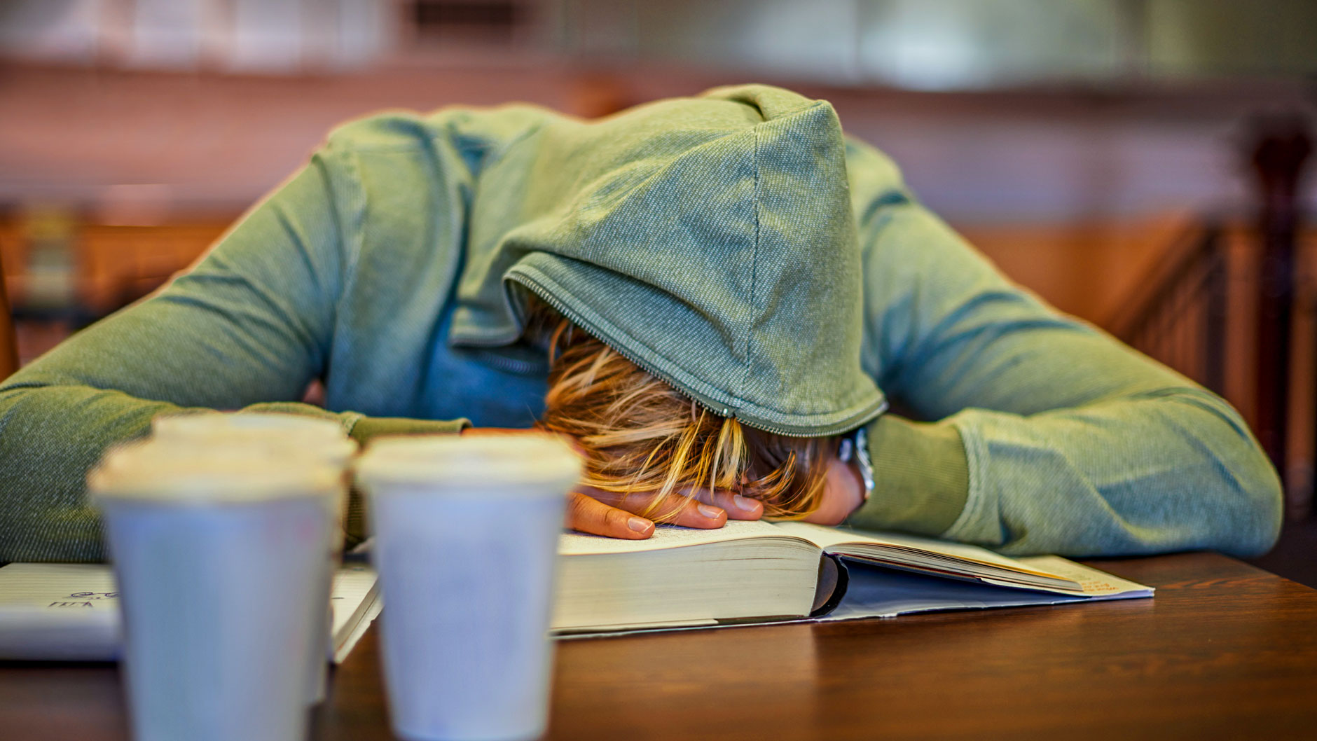 student overloaded from schoolwork